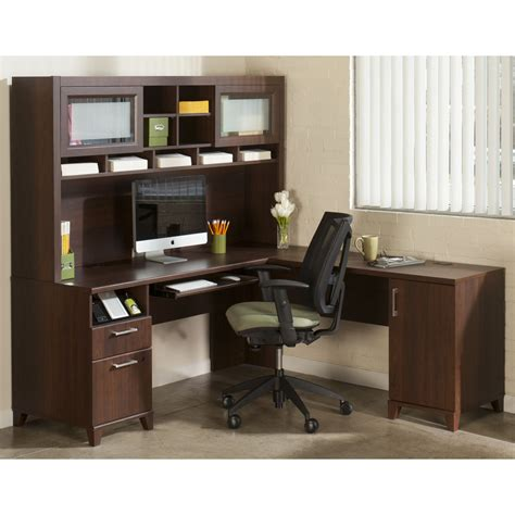 corner storage desk furniture storage ideas by corner desk with hutch and