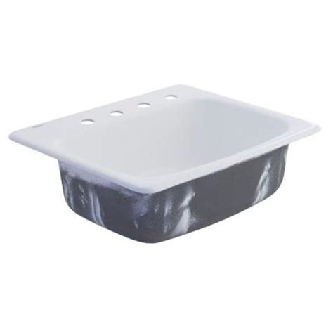american standard cast iron kitchen sinks american standard top mount cast iron 25x22x8 75 4