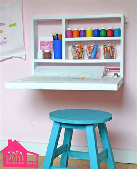 childrens small desk and simple projects for rooms handmade