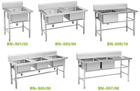 Kitchen Sinks With Backsplash industrial kitchen sinks stainless steel three compartment