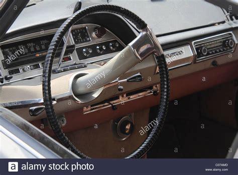 Citroen Steering Wheel by Single Spoke Steering Wheel And Dashboard Of A Vintage