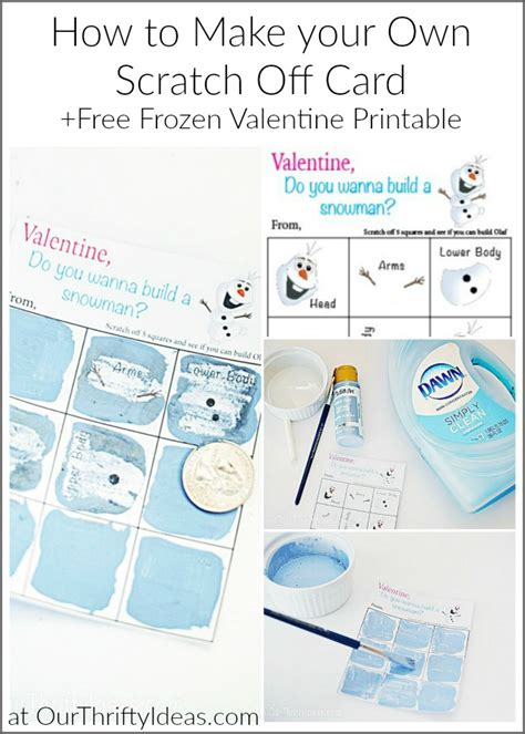 make your card for free do you want to build a snowman diy scratch