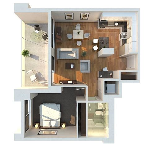 one bedroom flat floor plans 50 one 1 bedroom apartment house plans architecture