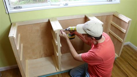 Kitchen Island Base Cabinet how to build base cabinets woodworking for mere mortals