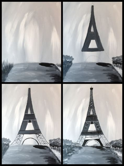paint with a twist eiffel tower pin by robbin on just me