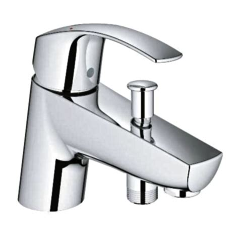 grohe bath shower mixer taps grohe eurosmart single lever bath shower mixer tap chrome