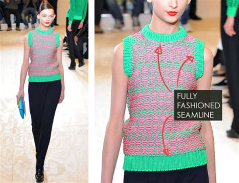 cut and sew knitting fully fashioned and cut and sew knitwear at jil sander
