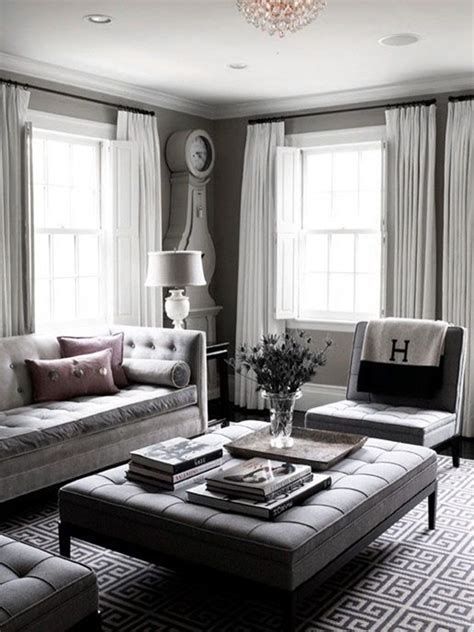 grey and white home decor 40 grey living room ideas to adapt in 2016 bored