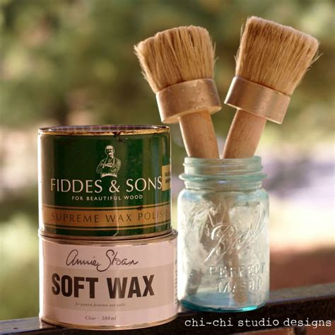Sloan Chalk Paint Wax Tutorial Refinish