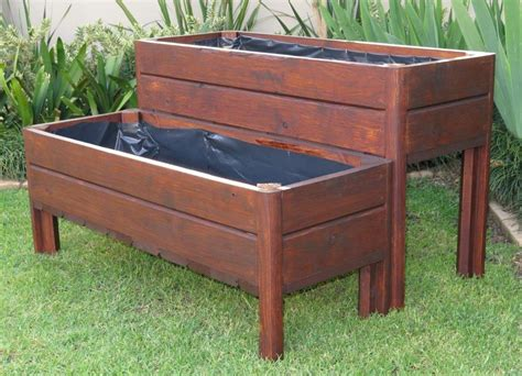 wooden planter boxes wooden planter boxes wood pioneers wendy house