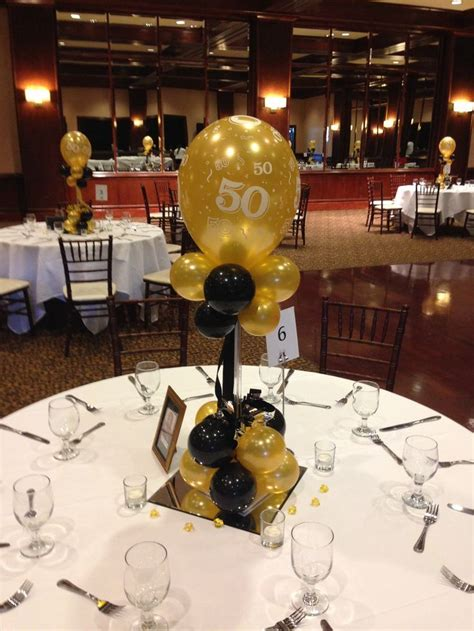 centerpieces ideas for birthday 17 best ideas about 50th birthday centerpieces on
