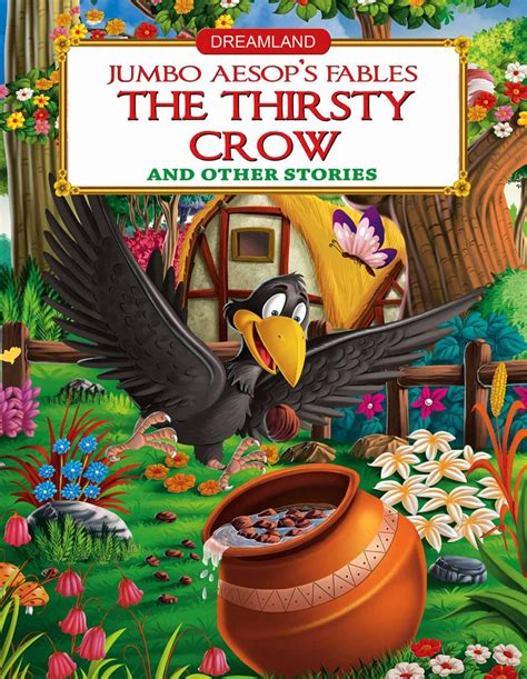 a thirsty story book picture buy dreamland aesop s fables the thirsty in