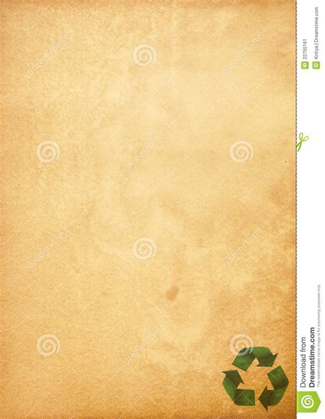 green craft paper recycled paper craft stick stock image image 22755161