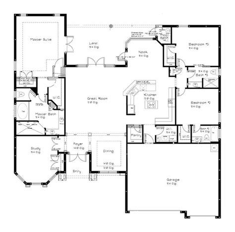 split floor plan split bedroom floor plans simple split bedroom floor plans