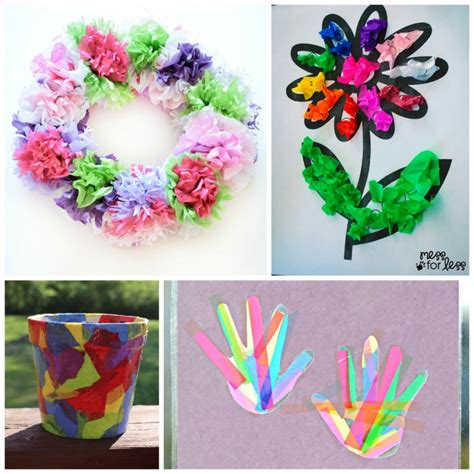craft from tissue paper beautiful tissue paper crafts for what can we do