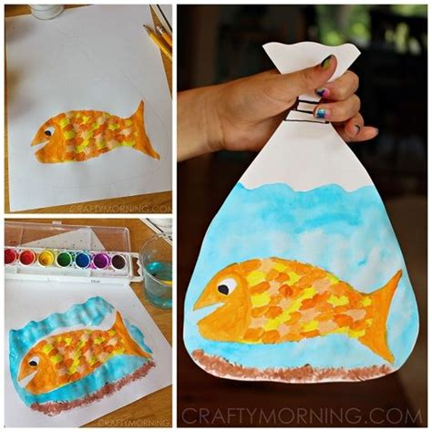 paper bag fish craft 25 best ideas about fish crafts on fish