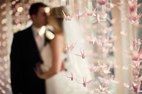 origami crane pictures for weddings details we paper cranes
