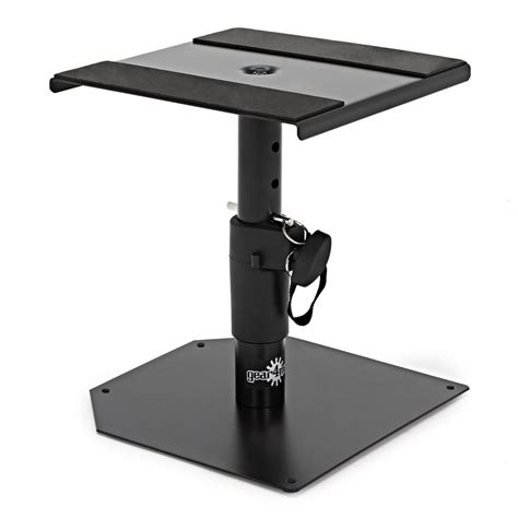 monitor desk stands desktop monitor speaker stands by gear4music pair b