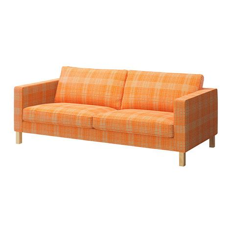 3 seat sofa slipcovers ikea karlstad 3 seat sofa slipcover cover husie orange print