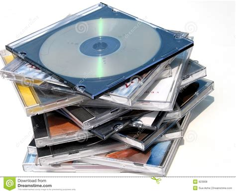 dvds cds royalty free stock photos image 923908