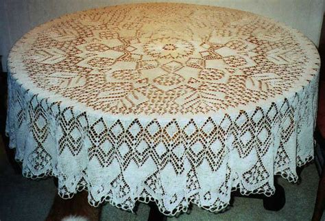 knitting patterns for tablecloths 1000 images about knitting doilies tablecloths on