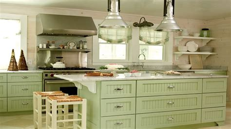 green painted kitchen cabinets kitchen cabinets painted green