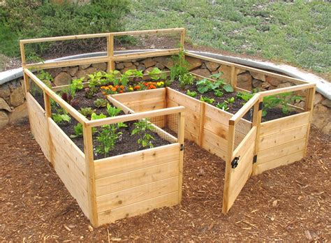raised vegetable garden kit grow your favorite fruits and veggies at home with these