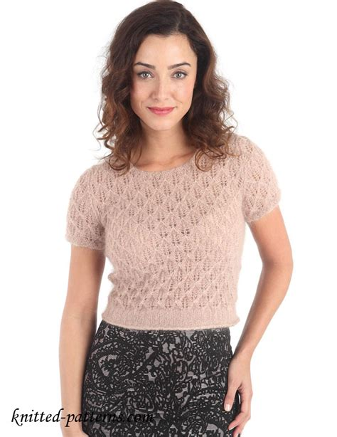 top knitting websites candlelight lace top