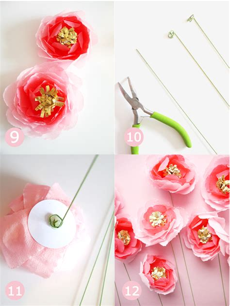 paper roses craft diy crepe paper flowers bouquet ideas