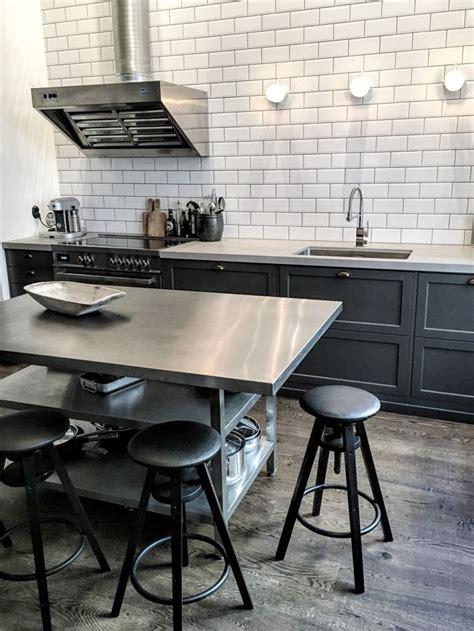 industrial kitchen island best 25 industrial kitchen island ideas on
