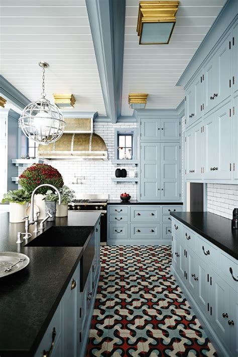 light blue kitchen tiles best 25 blue kitchen cabinets ideas on blue