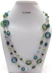 glass bead necklaces glass necklaces jewelry ideas