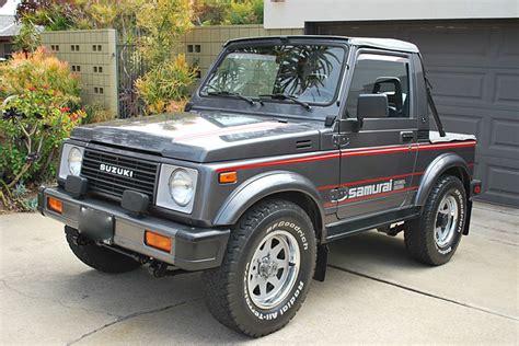 Suzuki Samurai by This 87 Suzuki Samurai Is The 4x4 Collector S Jeep
