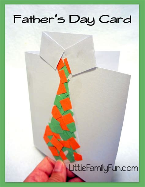 fathers day card for to make family s day card collage tie