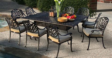cast aluminum patio furniture sets san marino collection san marino patio furniture