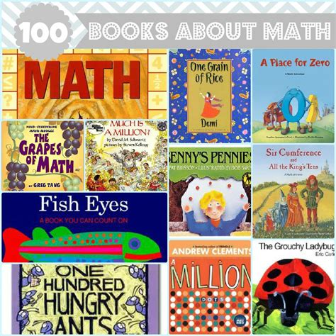100 picture books 100 books about math for chasing supermom