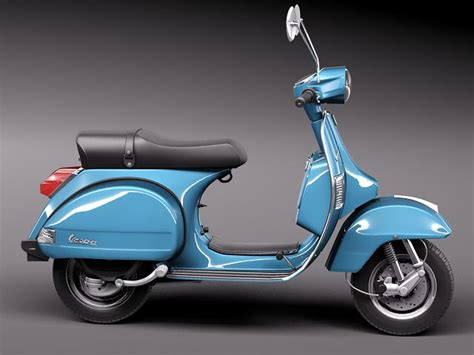 Modifikasi Vespa Px 150 E by Vespa Px 150 2011 3d Model Max Obj 3ds Fbx C4d Lwo