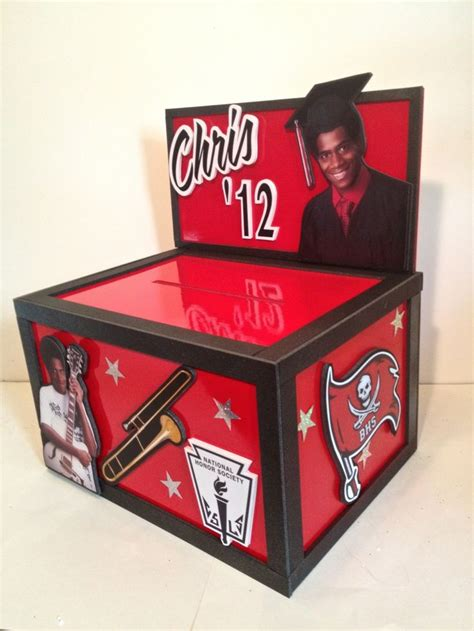 how to make a graduation card box 17 best images about graduation card boxes on