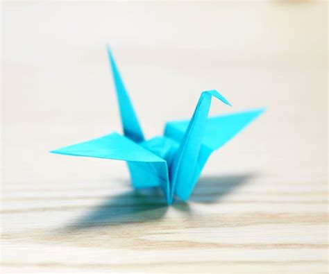 origami crane how to make a paper crane 16 steps with pictures