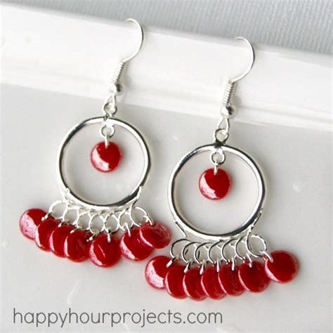 how to make chandelier earrings with diy earrings that will dazzle
