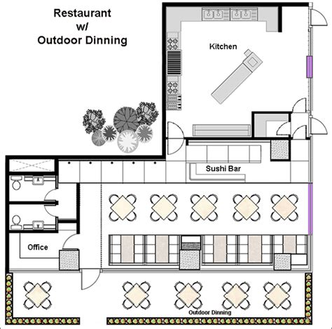 floor plans for a restaurant restaurant design software quickly design restauarants