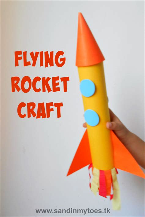 rocket craft for busy flying rocket craft sand in my toes