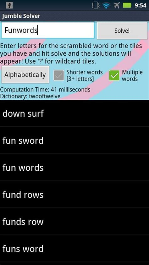 zx words for scrabble jumble solver paid android apps on play