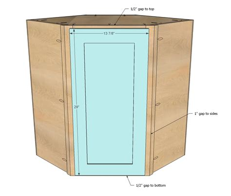 woodworking build a corner wall cabinet plans pdf