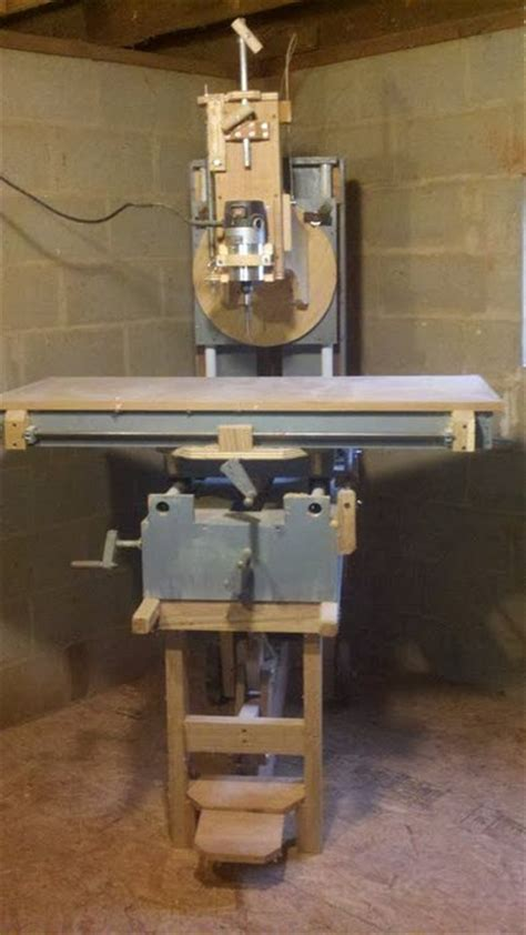 woodworking mill router milling machine by mark55 lumberjocks