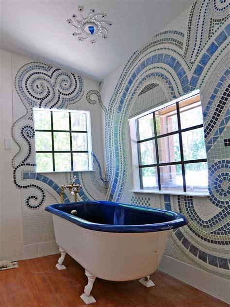 mosaic tile designs bathroom bathroom tiles for every budget and design style bathroom ideas designs hgtv