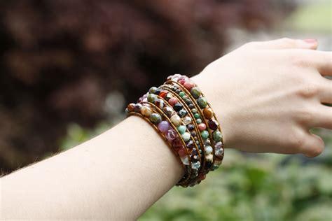 how to make bohemian jewelry diy chan luu style bohemian wrap bracelet eureka