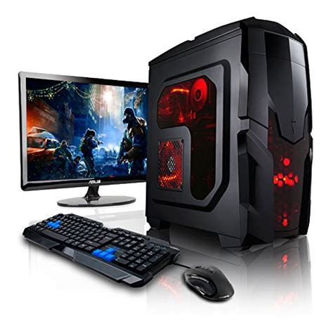 megaport m 233 ga pack unit 233 centrale pc gamer complet ecran led 22 claviers de jeu et
