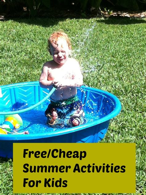 cheap summer crafts for free and cheap summer activities for in central florida