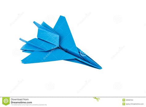 fighter jet origami origami f 15 eagle jet fighter vliegtuig stock